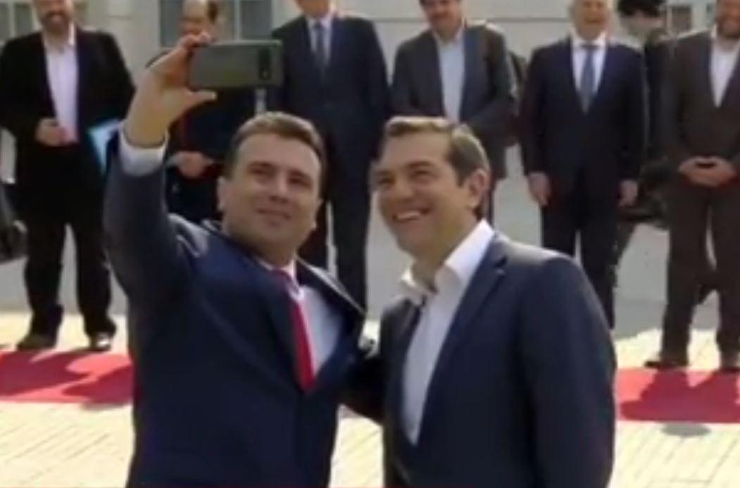 Tsipras viziton sot Maqedoninë e Veriut