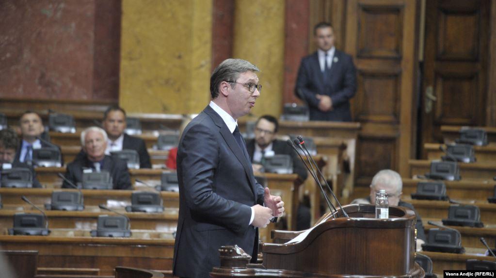 Urdhri i Vuçiç: Ushtria e policia në gatishmëri luftarake