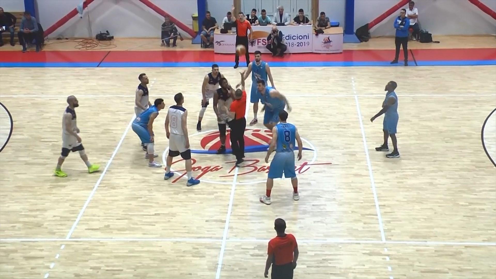 Goga Basket, kampione e Shqipërisë në Basketboll për meshkuj
