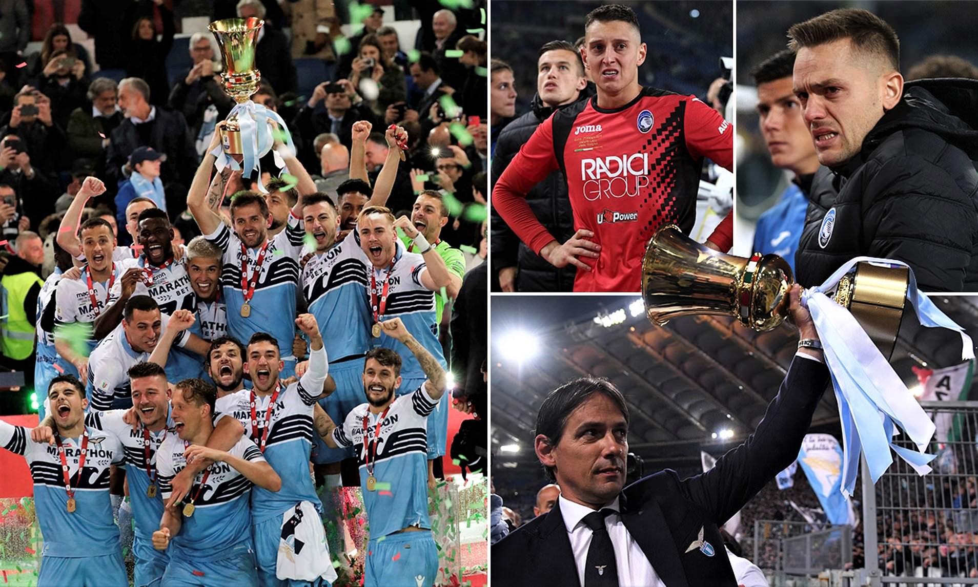 Lacio fiton kupën e Italisë, Strakosha i rrëmben trofeun Gjimshitit