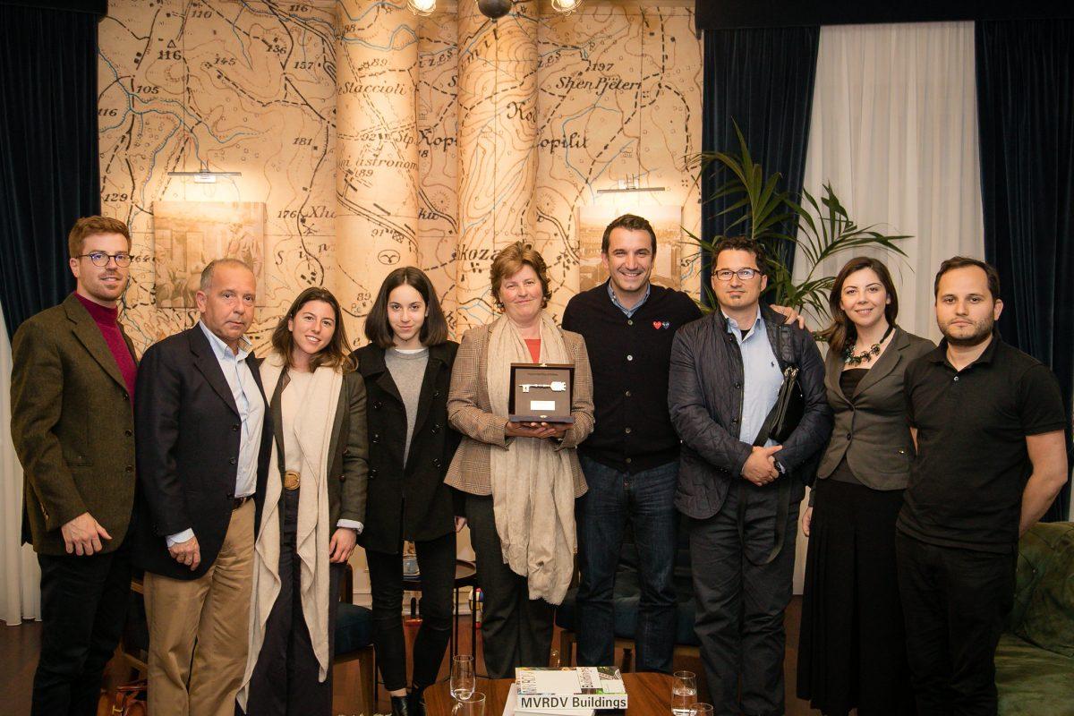 """""""Çelësi i Qytetit"""" për familjen e arkitektit Gherardo Bosio"""