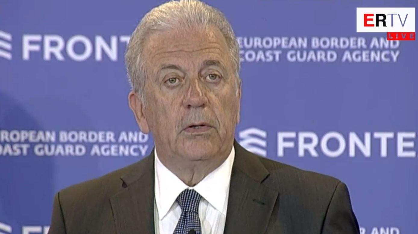 Nisja e punës së Frontex, Avramopulos: Hap historik