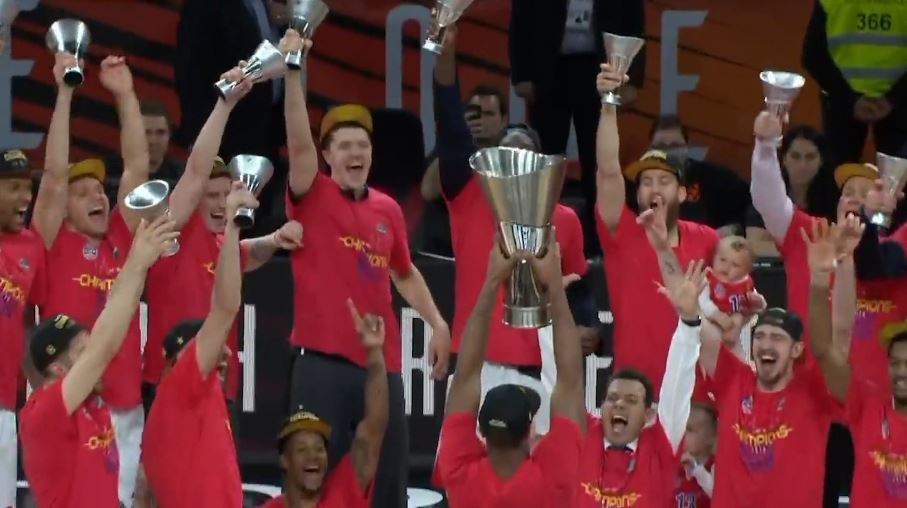 CSKA e Moskës fiton Euroligën në Basketboll