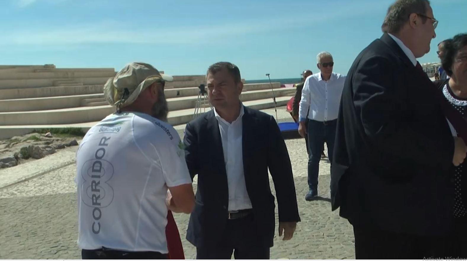 Pas 15 ditësh vrapim, atleti bullgar mbërrin në Durrës