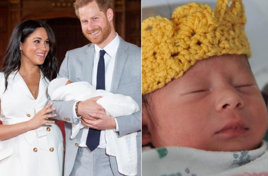 """Spitali """"kurorëzon"""" bebet mbretërore"""