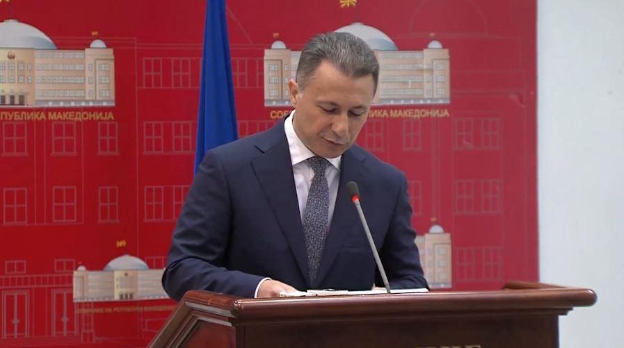 Për mandatin e Gruevskit vendoset pas 10 Qershorit