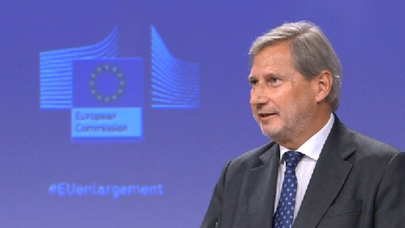 Hahn: Kosova të heqë taksën ndaj mallrave serbe
