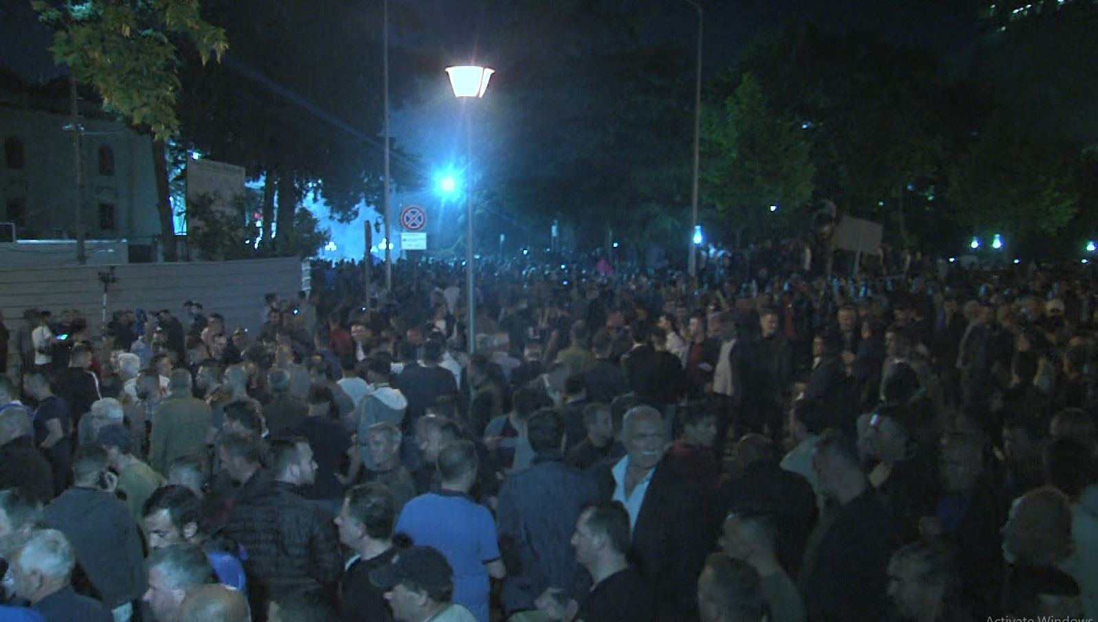Protesta, shënohet vetëm një incident (Video)
