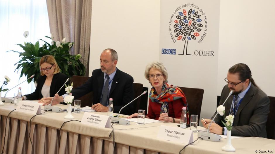 OSBE/ODIHR raport paraprak për zgjedhjet e 30 qershorit