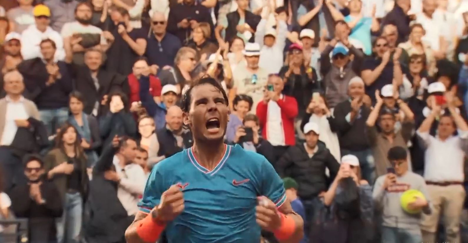 Rafael Nadal fiton titullin e 9-të në Romë, mund 2-1 Gjokoviçin