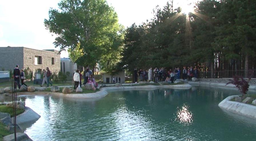 Përfundon parku japonez në Korçë