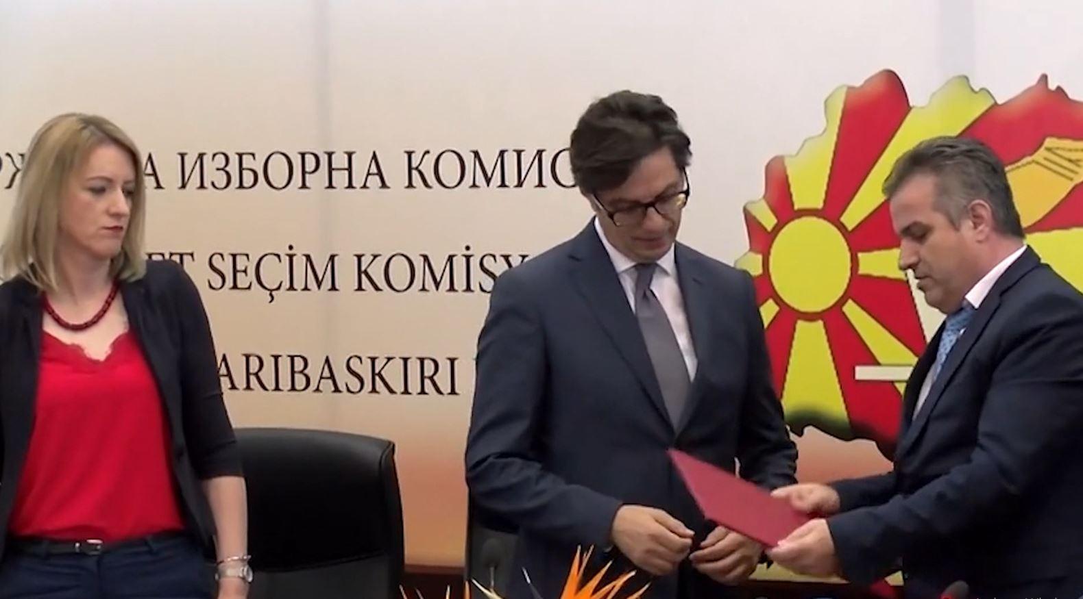 Nesër Presidenti i ri i Maqedonisë së Veriut merr postin