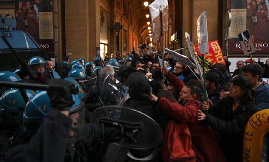 Tubime të mëdha nga partitë fashite në Itali