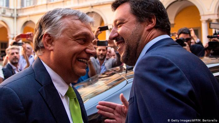 Takimi i populistëve Orban – Salvini