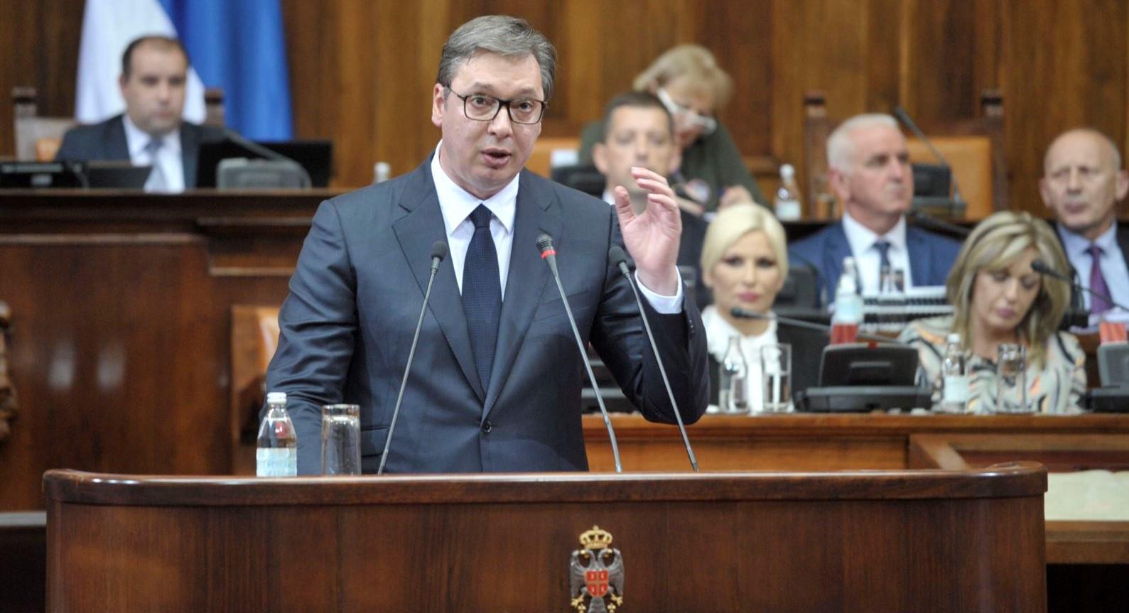 Kuvendi i Serbisë miraton raportin për Kosovën, çfarë paraqitet aty?
