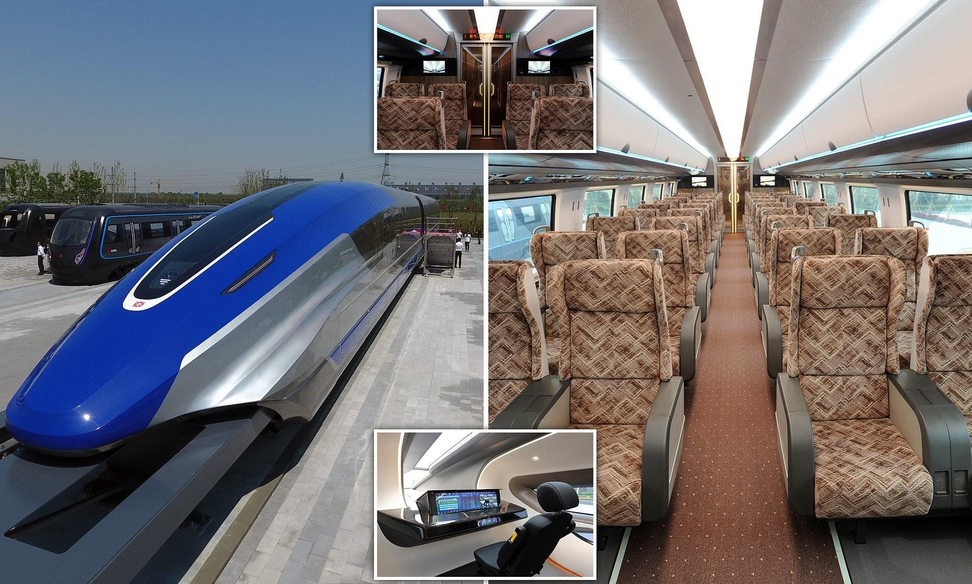 Pekini prezanton trenin e së ardhmes më të shpejtë se avioni