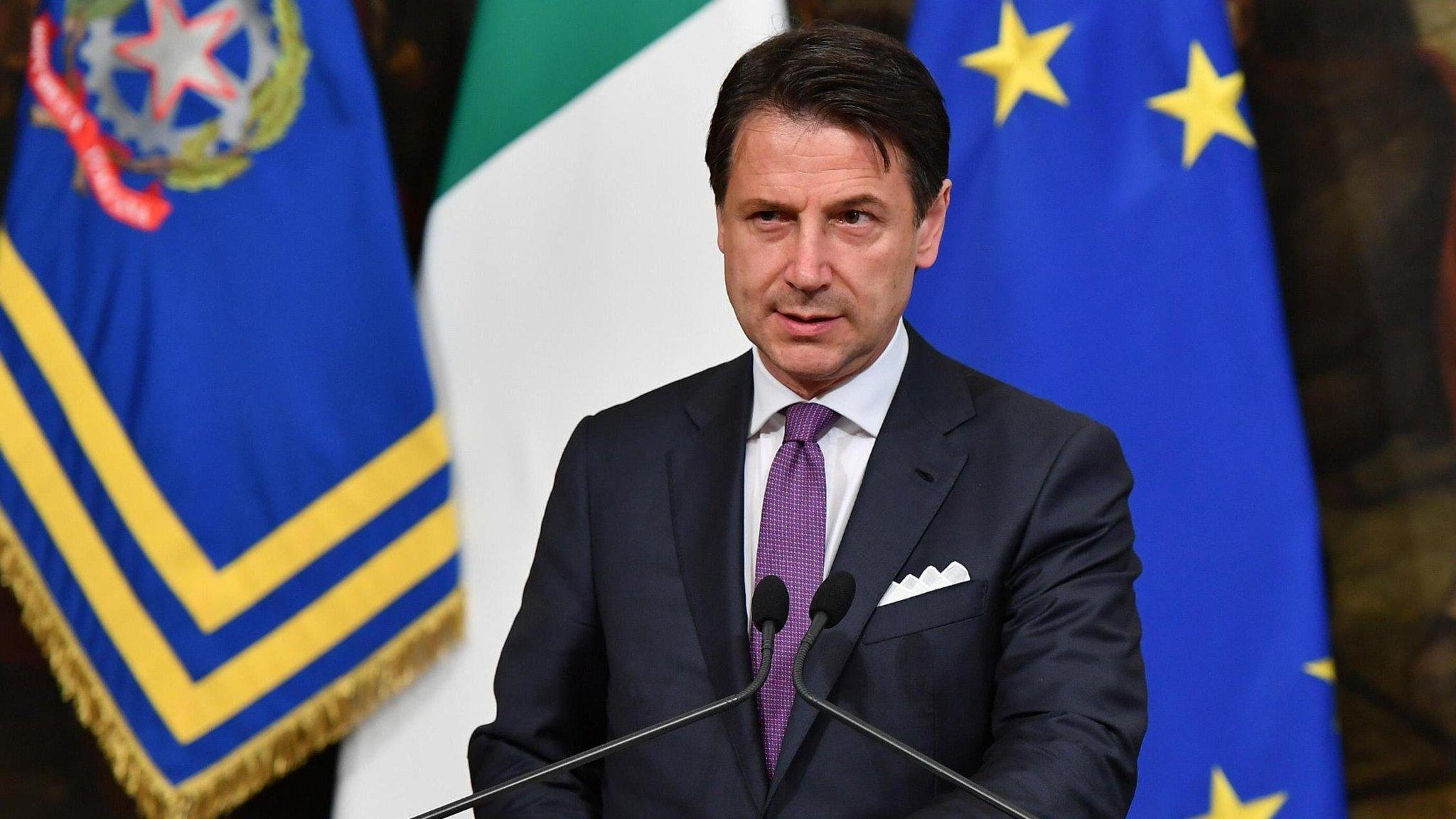 Kriza e qeverisë në Itali, Conte flet në parlament