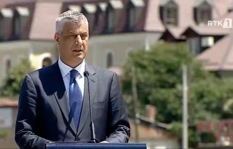 Thaçi në 20 vjetorin e Çlirimit: Kosova është mburrja dhe krenaria jonë
