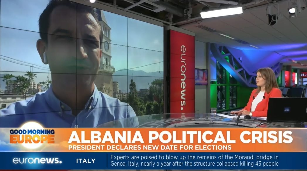 Veliaj për Euronews: Zgjedhjet më 30 qershor, liderët e opozitës frikë nga drejtësia