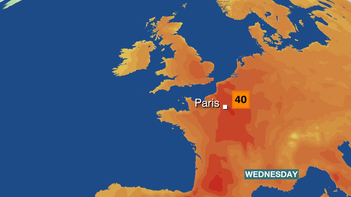 """Franca përgatitet për ditët e """"ferrit"""", temperaturat mbi 40 gradë"""