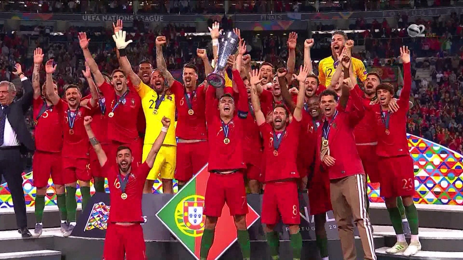 Portugalia dhe Kristiano Ronaldo janë fitues serialë