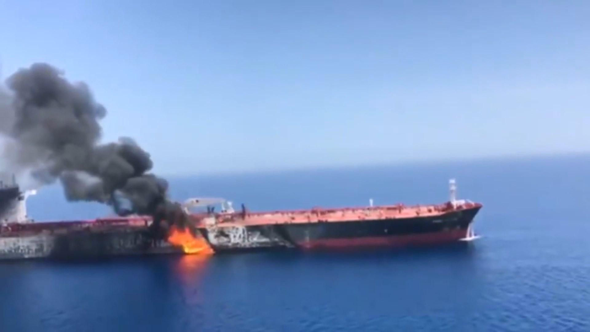 Gjiri i Oman, SHBA akuzon iranianët