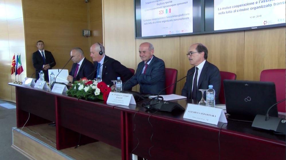 Kreu i Antimafias në Shkup: Italia sistem të dhënash për Ballkanin