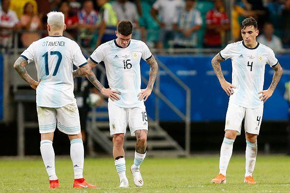 Argjentina nis me humbje kupën e Amerikës, Mesi pa shpresë