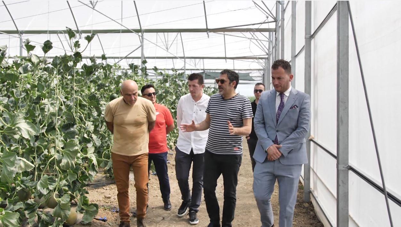 Ministri Çuçi në fermat e Lushnjes