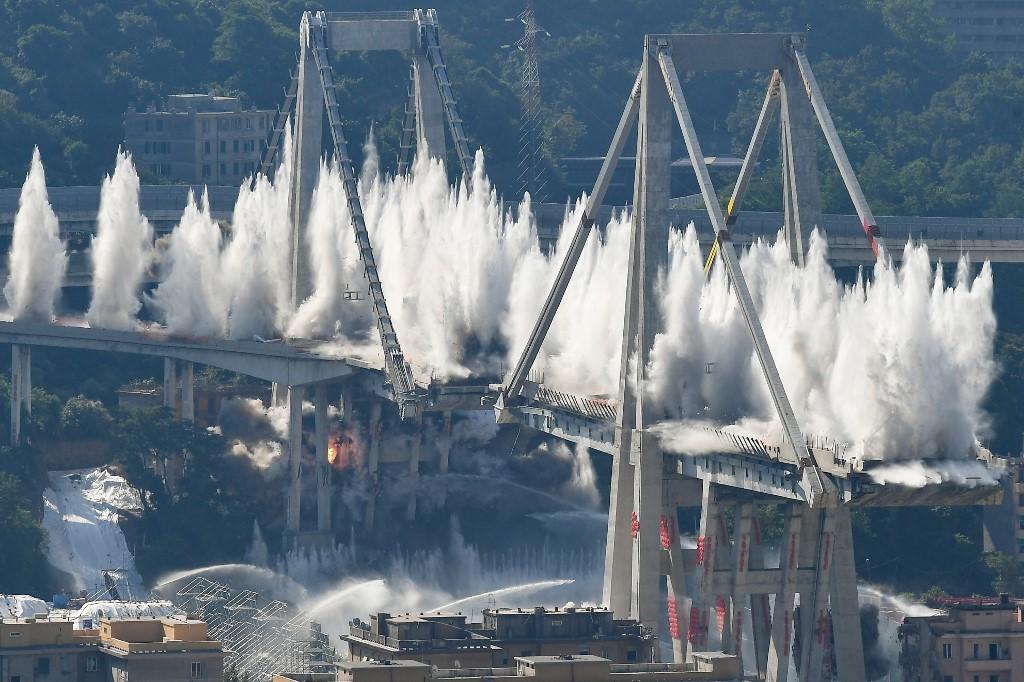 """Hidhet në erë ura """"Morandi"""" (Video)"""