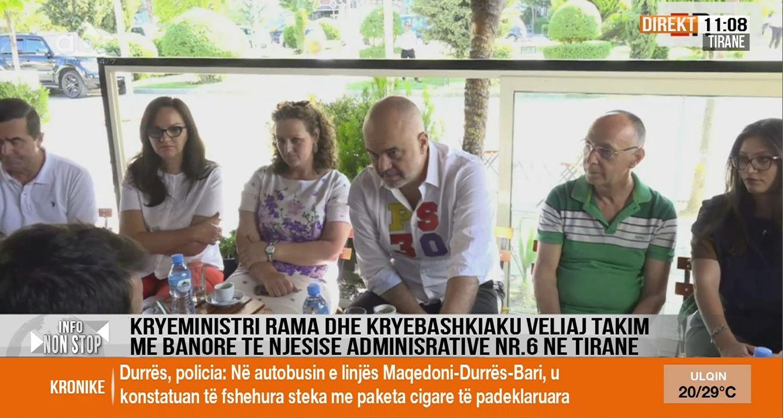Rama komenton ngjarjet dje në Shkodër