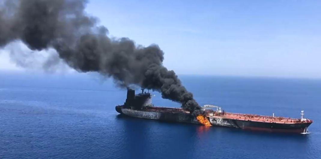 Incidenti në Gjirin e Omanit, Trump fajëson Iranin