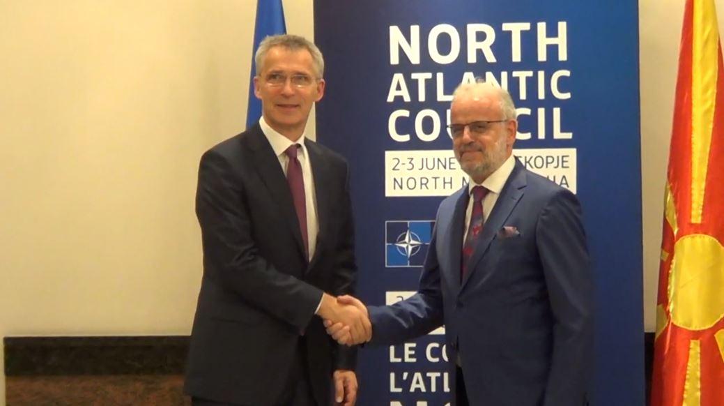 Stoltenberg, vizitë zyrtare në Maqedoninë e Veriut