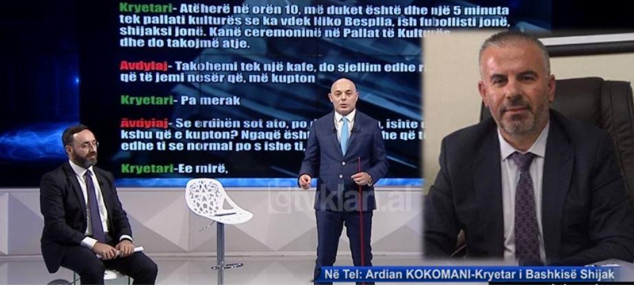 Telefonata me Avdylajn, reagon kryebashkiaku i Shijakut