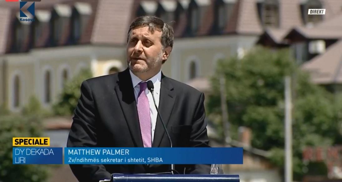 Palmer: SHBA është në anën tuaj, koha për marrëveshjen Kosovë-Serbi