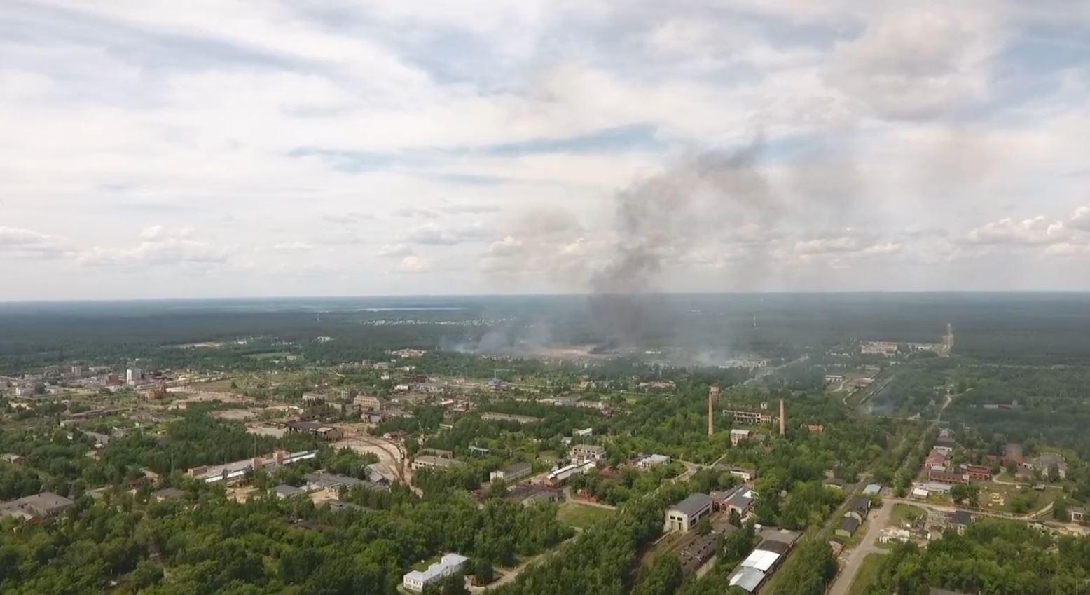 Shpërthime në një fabrikë eksplozivi në Dzerzhinsk