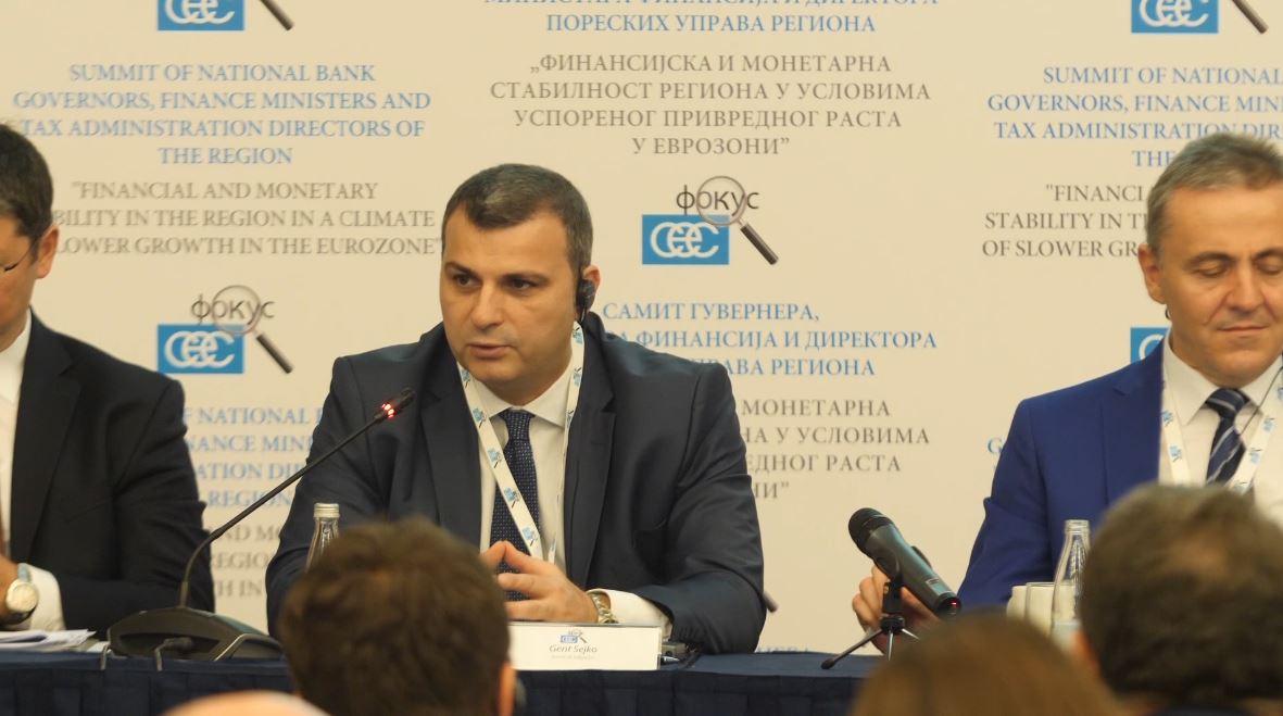 Samiti i bankave qendrore të rajonit, Sejko: Aktivitetet në dobi të politikave fiskale