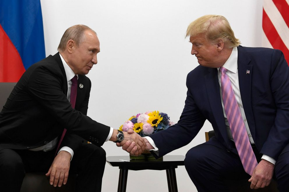 Marrëdhëniet SHBA-Rusi, Putin: Nuk është faji i Trump për raportet dypalëshe