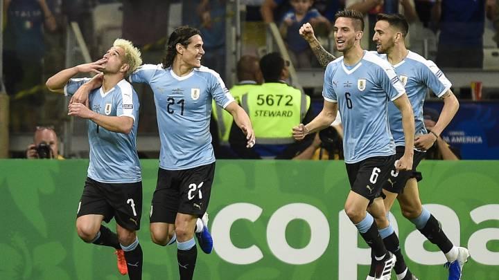 Uruguai, triumf 4-0 Ekuadorin në Kupën e Amerikës