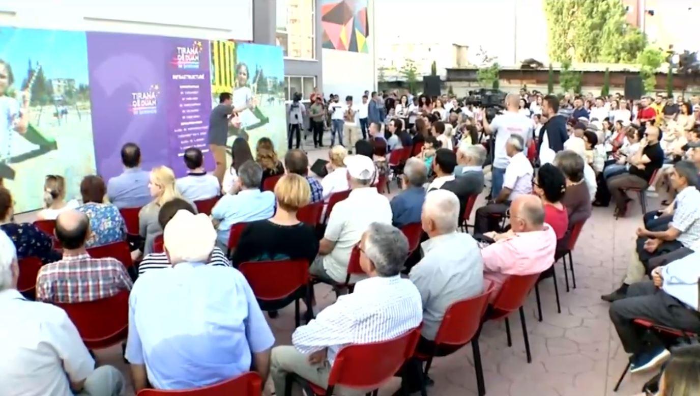 Veliaj takime me banorët në zonën ekonomike të Tiranës