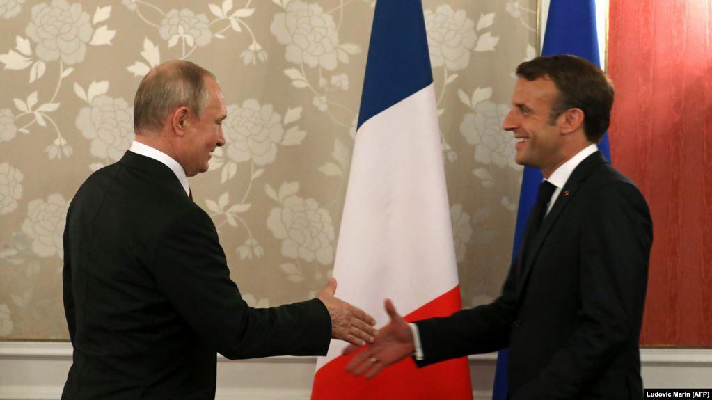 Macron dhe Putin do të takohen muajin e ardhshëm