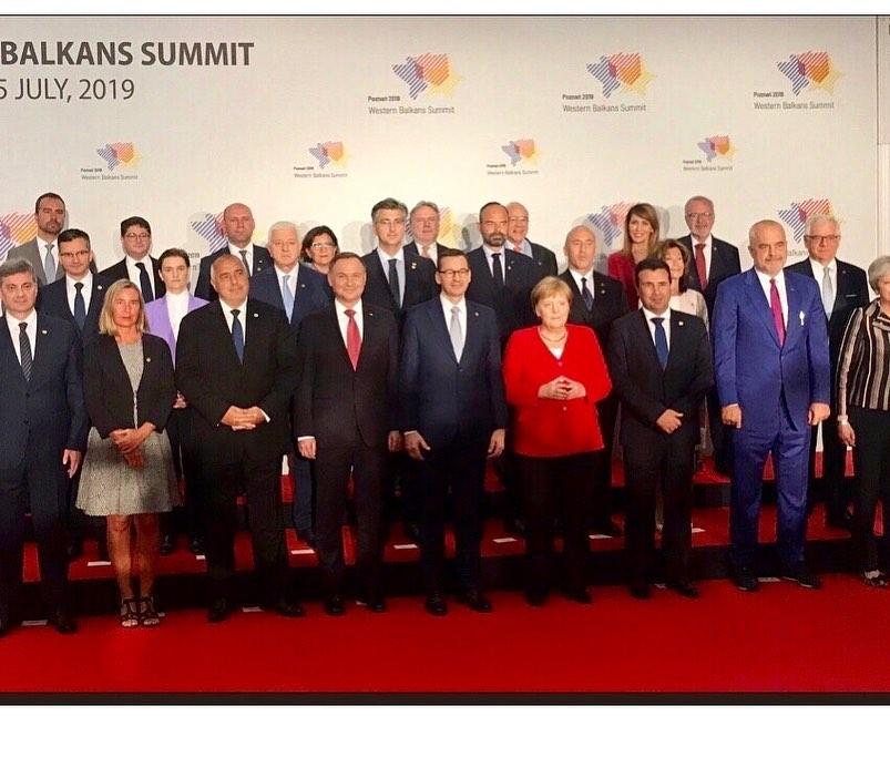 Zgjerimi i BE-së, Merkel kundër Macron