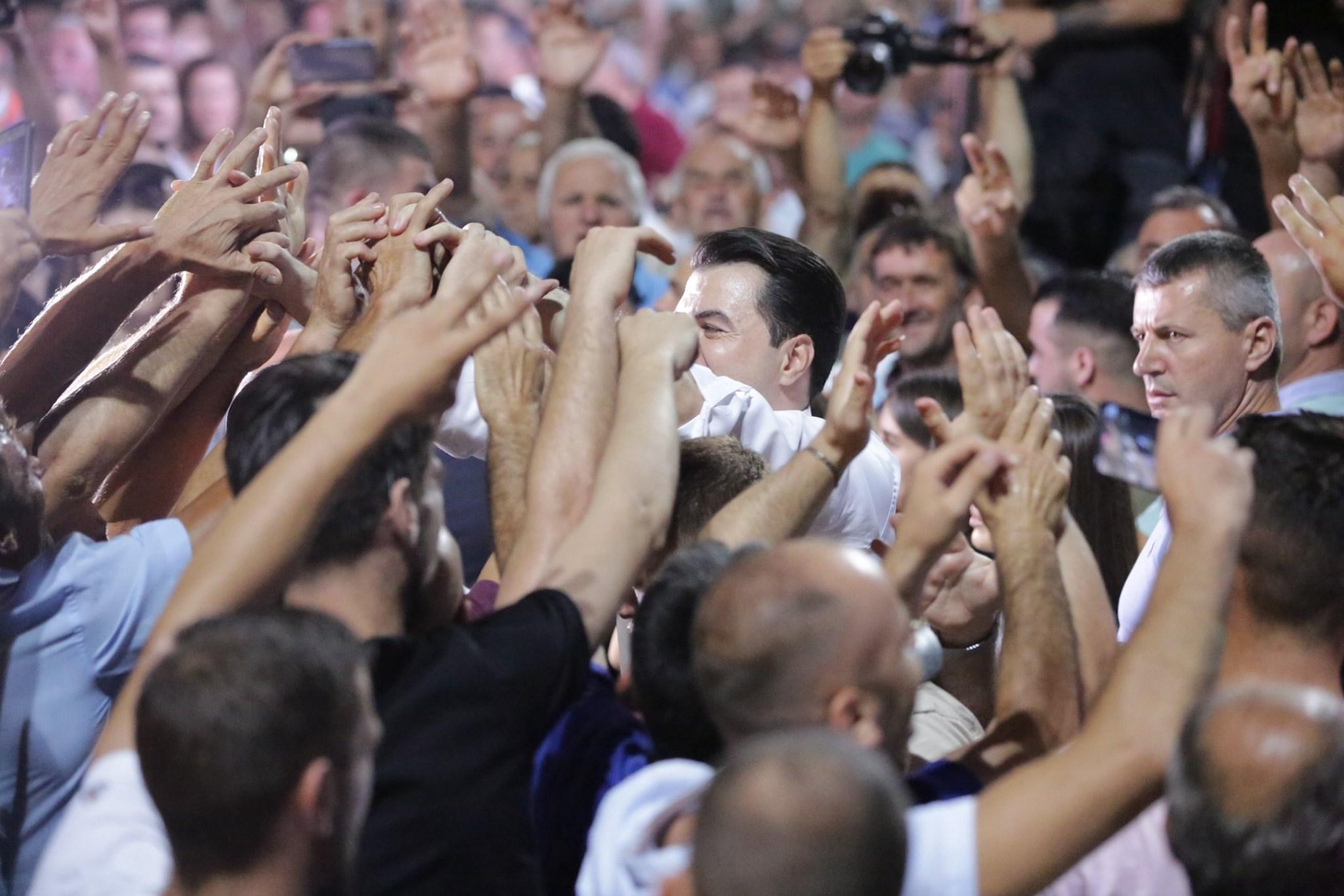 Basha: Qeveria që do dalë nga zgjedhjet e lira, hap negociatat me BE