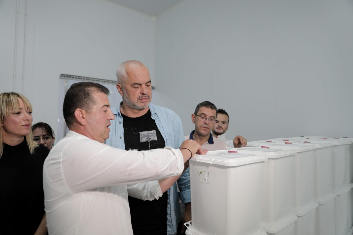 Rama inspekton baxhon e djathit në Boboshticë