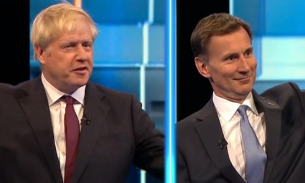 Debati televiziv në Britani mes Hunt dhe Johnson për postin e Theresa May