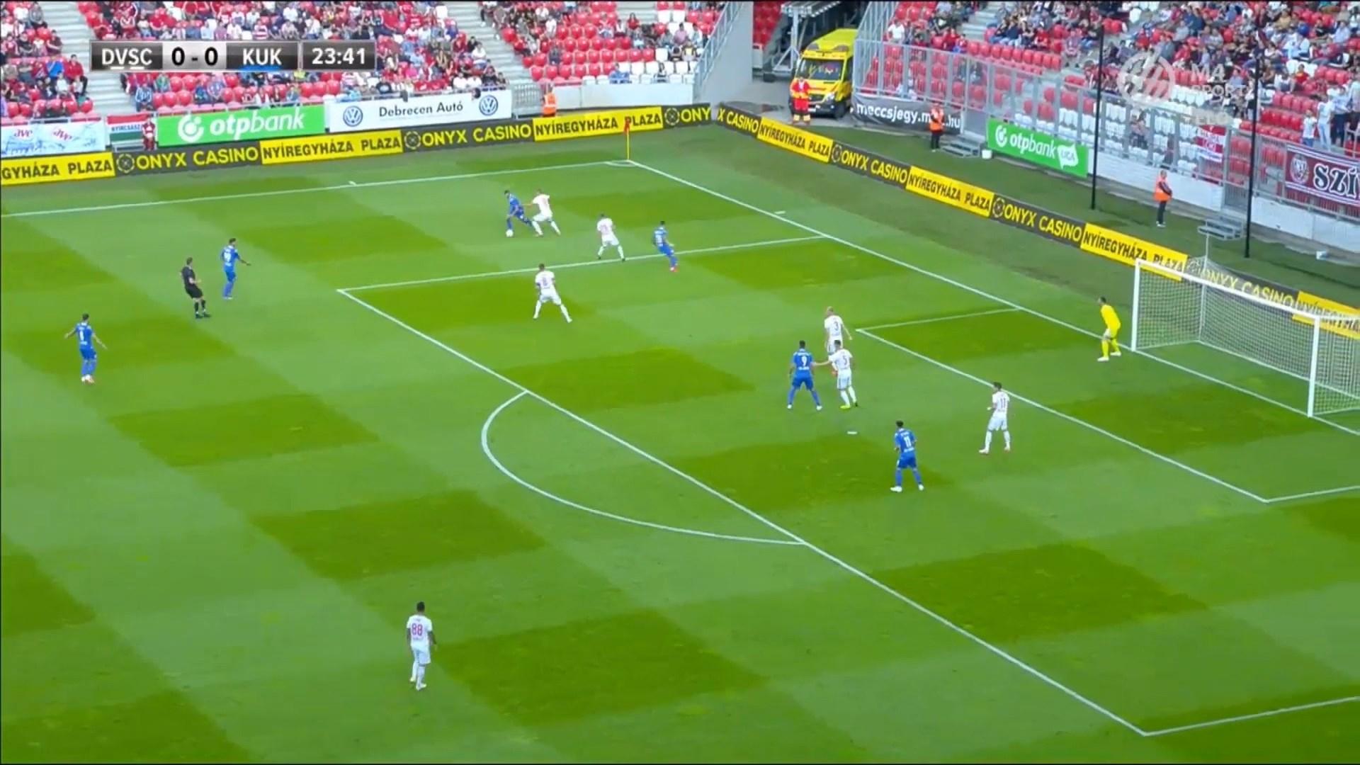 Skuadra e Kukësit u mposht me rezultatin 3-0 ndaj Debrecen