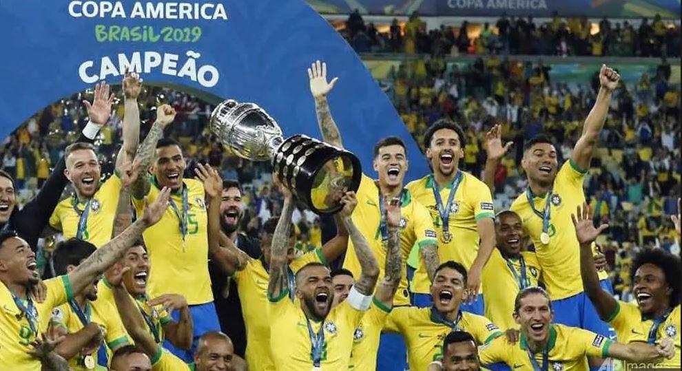 Brazili në festë pas titullit në Kupën e Amerikës
