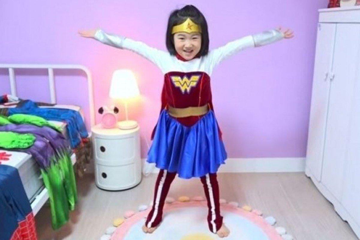 """""""Yotuber"""" në moshën 6-vjeçare, koreano-jugorja Boram blen një qiellgërvishtës"""