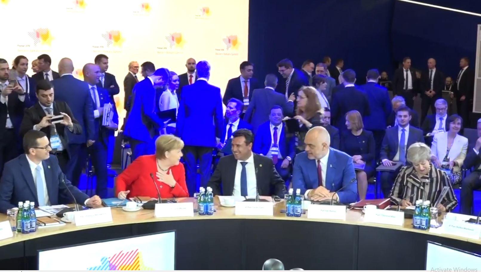 Rama në samitin e Merkel, merr mbështetje për integrimin