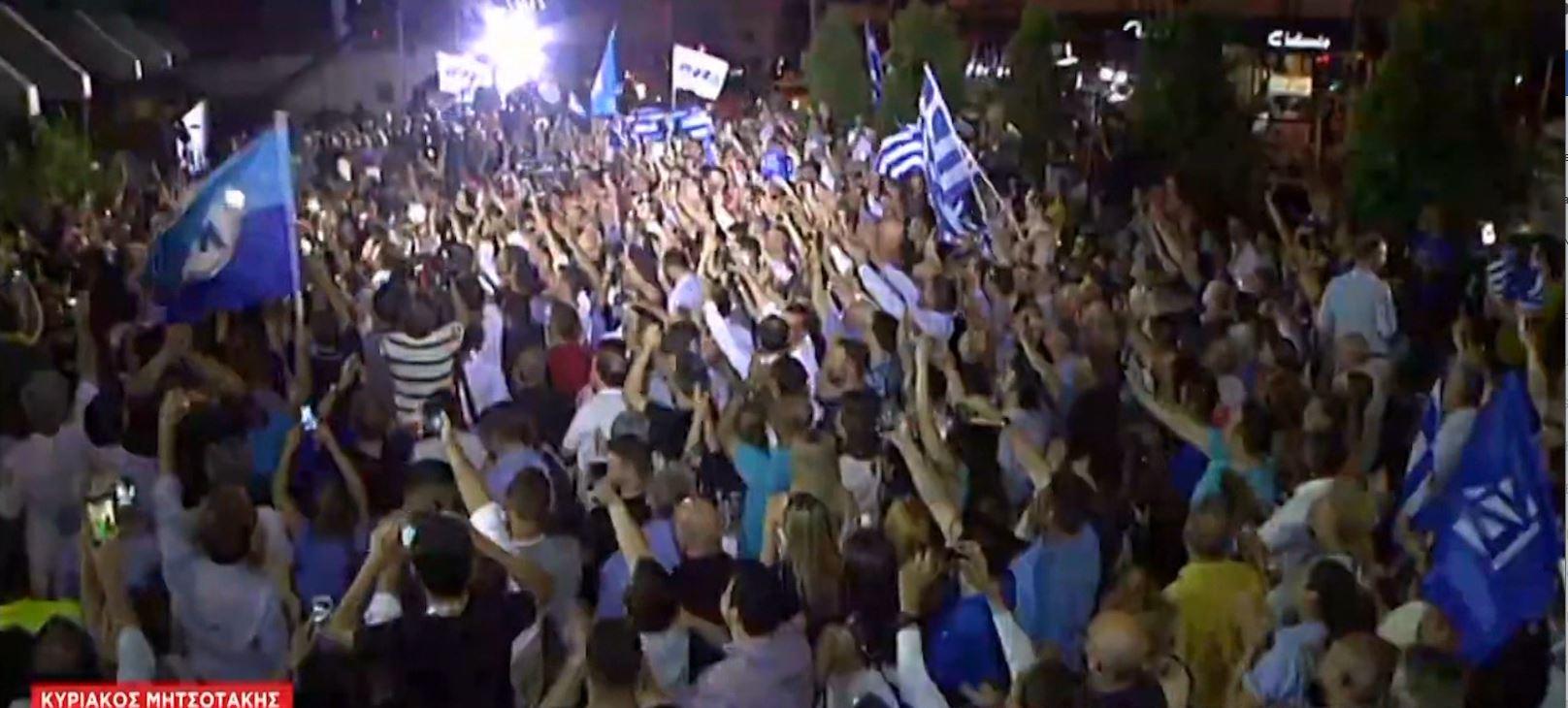Rrëzohet Tsipras në Greqi, Demokracia e re fiton maxhorancë absolute